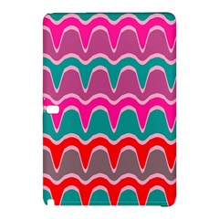 Waves Pattern			samsung Galaxy Tab Pro 10 1 Hardshell Case by LalyLauraFLM