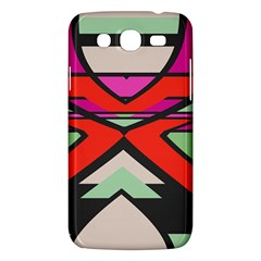 Shapes In Retro Colors			samsung Galaxy Mega 5 8 I9152 Hardshell Case by LalyLauraFLM