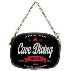 Cave Diving Extreme Sport Chain Purses (two Sides)  by ExtremeSport