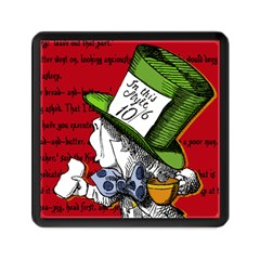 The Mad Hatter Memory Card Reader (square)  by waywardmuse