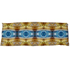 Gold And Blue Elegant Pattern Body Pillow Cases (dakimakura)  by Costasonlineshop