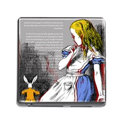 Alice In Wonderland Memory Card Reader (square) by waywardmuse