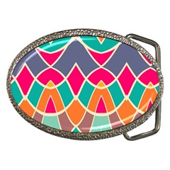 Wavy Design			belt Buckle by LalyLauraFLM