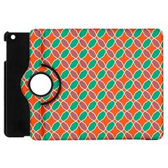 Stars And Flowers Pattern			apple Ipad Mini Flip 360 Case by LalyLauraFLM