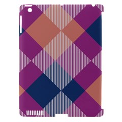 Argyle Variation			apple Ipad 3/4 Hardshell Case (compatible With Smart Cover) by LalyLauraFLM