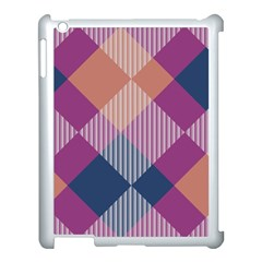 Argyle Variation			apple Ipad 3/4 Case (white) by LalyLauraFLM