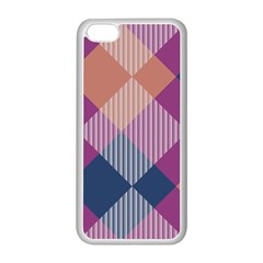 Argyle Variation			apple Iphone 5c Seamless Case (white) by LalyLauraFLM
