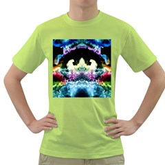 Space Cosmos Black Blue White Red Green T Shirt