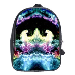 Space Cosmos Black Blue White Red School Bags(large)  by Costasonlineshop
