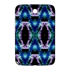 Blue, Light Blue, Metallic Diamond Pattern Samsung Galaxy Note 8 0 N5100 Hardshell Case  by Costasonlineshop