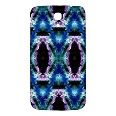 Blue, Light Blue, Metallic Diamond Pattern Samsung Galaxy Mega I9200 Hardshell Back Case by Costasonlineshop