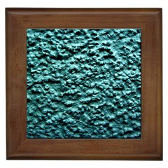 Blue Green  Wall Background Framed Tiles by Costasonlineshop