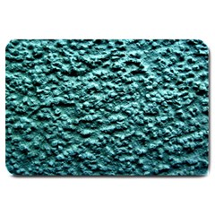 Blue Green  Wall Background Large Doormat