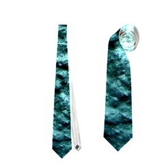 Blue Green  Wall Background Neckties (two Side)  by Costasonlineshop