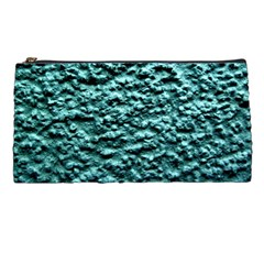 Blue Green  Wall Background Pencil Cases by Costasonlineshop