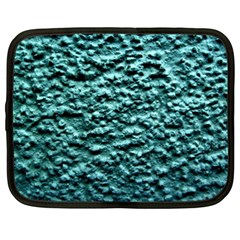 Blue Green  Wall Background Netbook Case (xxl)  by Costasonlineshop