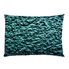 Blue Green  Wall Background Pillow Cases (two Sides) by Costasonlineshop