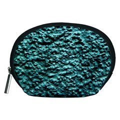 Blue Green  Wall Background Accessory Pouches (medium)  by Costasonlineshop