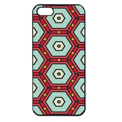 Hexagons Pattern			apple Iphone 5 Seamless Case (black)