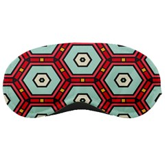 Hexagons Pattern			sleeping Mask by LalyLauraFLM