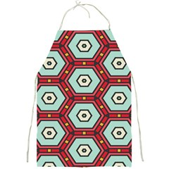 Hexagons Pattern			full Print Apron by LalyLauraFLM