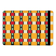 Rectangles And Squares Pattern			samsung Galaxy Tab Pro 10 1  Flip Case by LalyLauraFLM