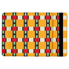 Rectangles And Squares Pattern			apple Ipad Air Flip Case by LalyLauraFLM