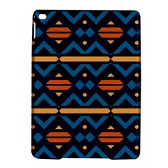 Rhombus  Circles And Waves Pattern			apple Ipad Air 2 Hardshell Case by LalyLauraFLM