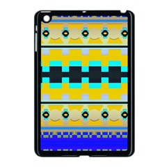 Rectangles And Other Shapes			apple Ipad Mini Case (black) by LalyLauraFLM