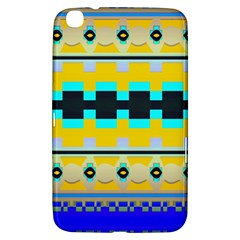 Rectangles And Other Shapes			samsung Galaxy Tab 3 (8 ) T3100 Hardshell Case by LalyLauraFLM