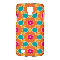 Pink Flowers Pattern			samsung Galaxy S4 Active (i9295) Hardshell Case by LalyLauraFLM