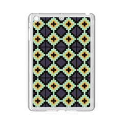 Pixelated Pattern			apple Ipad Mini 2 Case (white) by LalyLauraFLM