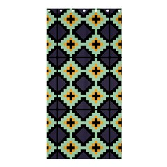 Pixelated Pattern	shower Curtain 36  X 72  by LalyLauraFLM