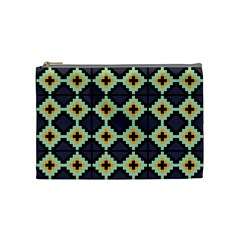 Pixelated Pattern Cosmetic Bag by LalyLauraFLM