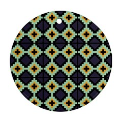 Pixelated Pattern			ornament (round) by LalyLauraFLM