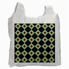 Pixelated Pattern			recycle Bag (one Side) by LalyLauraFLM