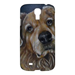Selfie Of A Golden Retriever Samsung Galaxy S4 I9500/i9505 Hardshell Case by timelessartoncanvas