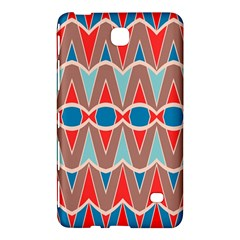 Rhombus And Ovals Chains			samsung Galaxy Tab 4 (8 ) Hardshell Case by LalyLauraFLM