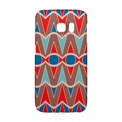 Rhombus And Ovals Chains			samsung Galaxy S6 Edge Hardshell Case by LalyLauraFLM