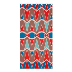 Rhombus And Ovals Chains	shower Curtain 36  X 72  by LalyLauraFLM