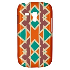 Rhombus Triangles And Other Shapes			samsung Galaxy S3 Mini I8190 Hardshell Case by LalyLauraFLM