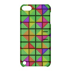 3d Rhombus Pattern			apple Ipod Touch 5 Hardshell Case With Stand by LalyLauraFLM
