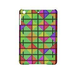 3d Rhombus Pattern			apple Ipad Mini 2 Hardshell Case by LalyLauraFLM