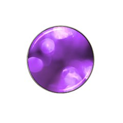 Purple Circles Hat Clip Ball Marker (4 Pack) by timelessartoncanvas