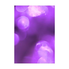 Purple Circles Shower Curtain 48  X 72  (small)  by timelessartoncanvas