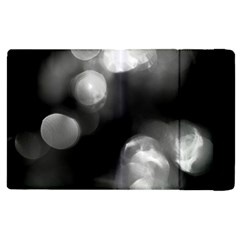 Black And White Circle Apple Ipad 3/4 Flip Case by timelessartoncanvas