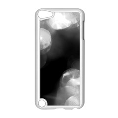 Black And White Circle Apple Ipod Touch 5 Case (white) by timelessartoncanvas
