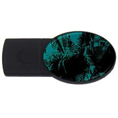Palm Designs Usb Flash Drive Oval (2 Gb)  by timelessartoncanvas