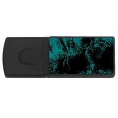 Palm Designs Usb Flash Drive Rectangular (4 Gb)  by timelessartoncanvas