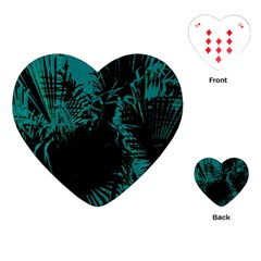 Palm Designs Playing Cards (heart)  by timelessartoncanvas